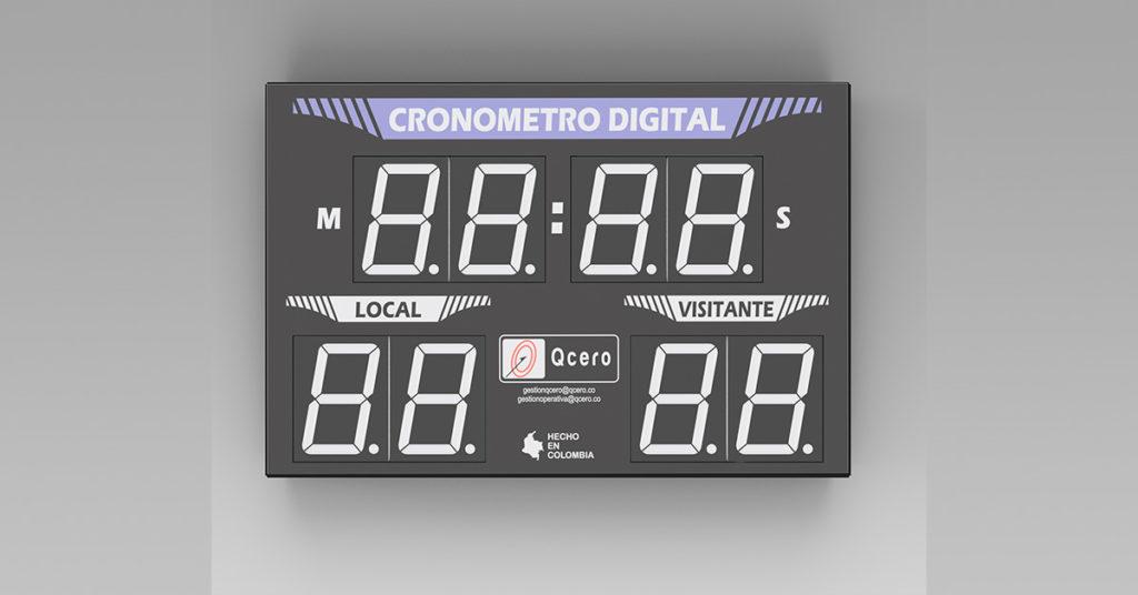 Cronometro Cancha